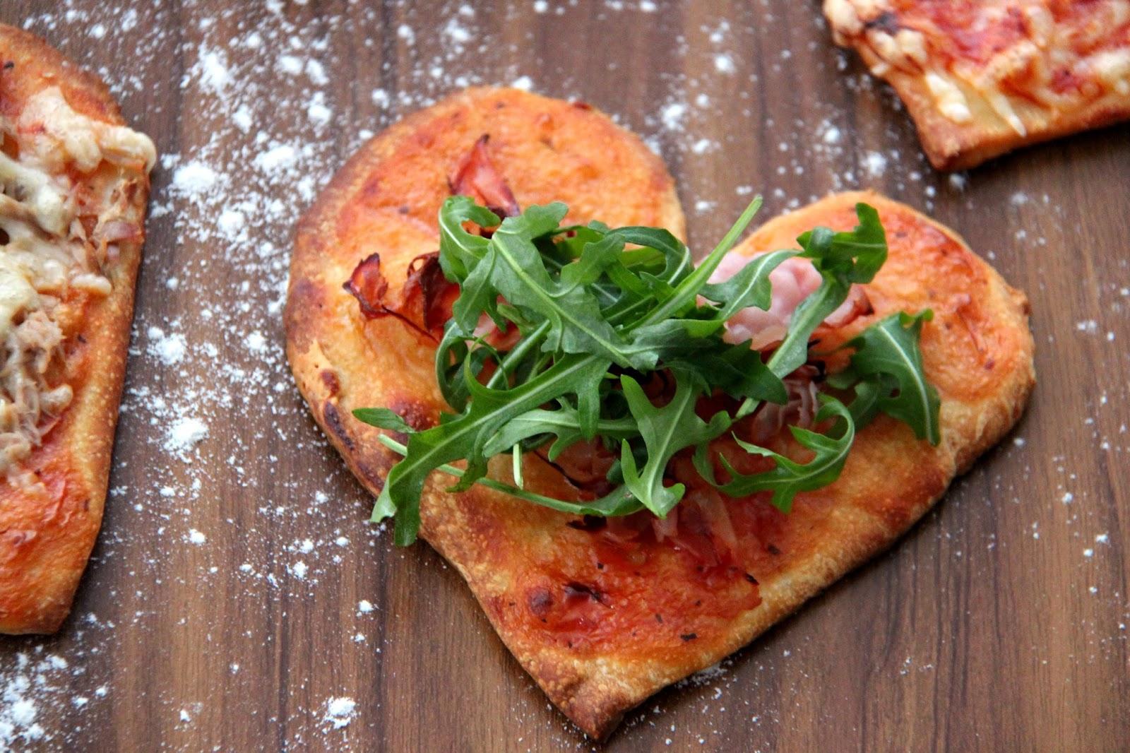 Valentinstag Rezept Leckere Herzpizza Stilechtes Nicht Nur Ein