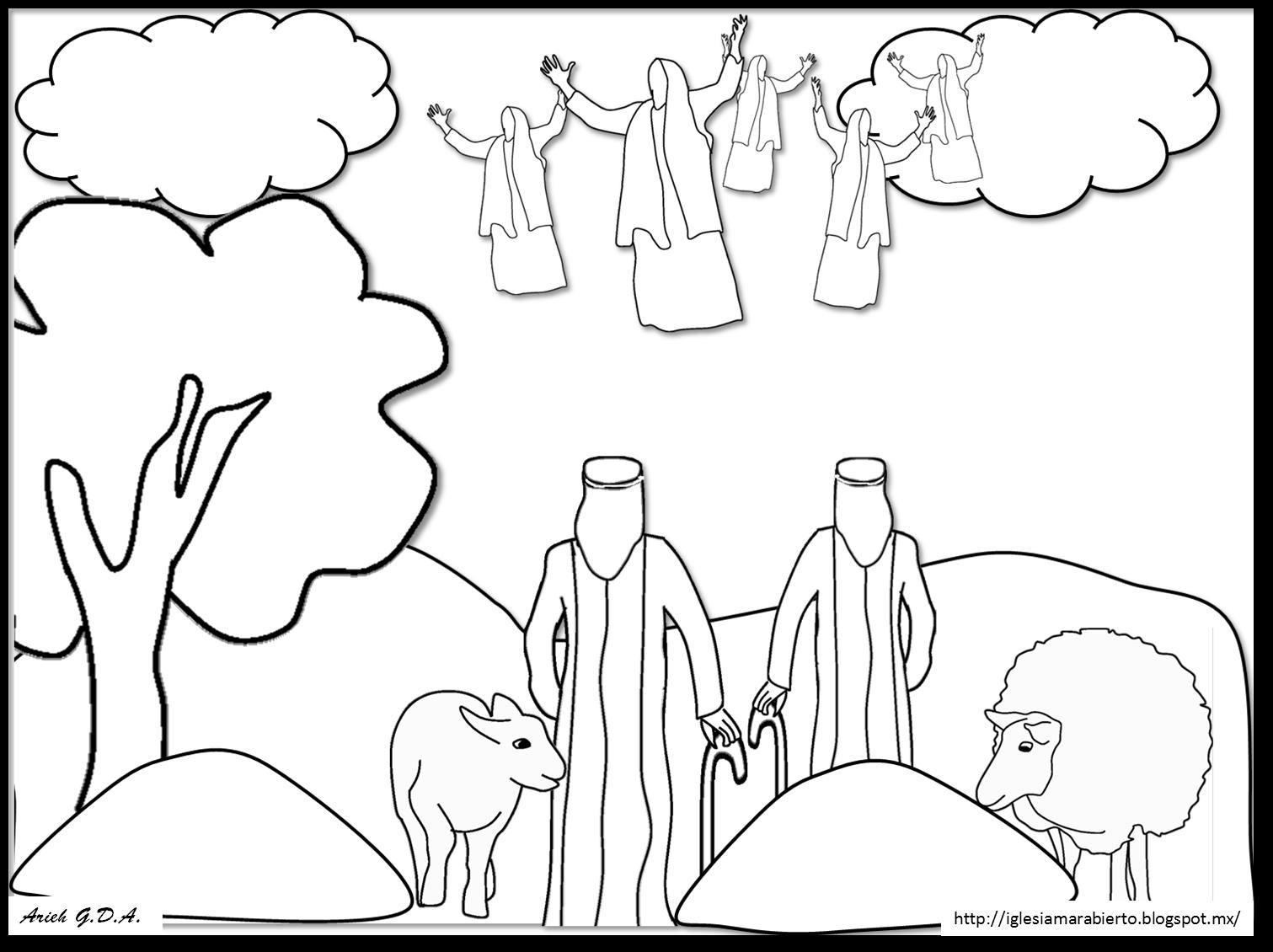 IGLESIA MAR ABIERTO: Estudio bíblico para niños - los ángeles y los ...
