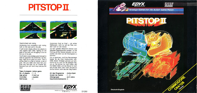 PITSTOP 2IN1 (COMMODORE 64)