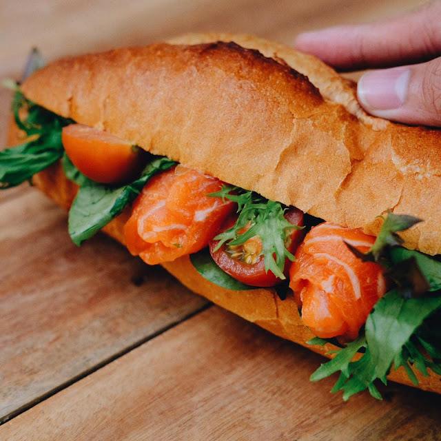 Salmon Salar Fillet Skin