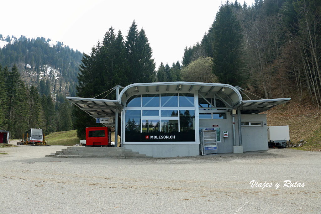 Moléson-sur-Gruyères, Suiza
