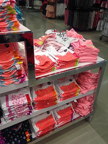 t-shirt, tables, primark