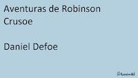 Aventuras de Robinson Crusoe Daniel Defoe