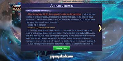 Solusi Setelah Update Mobile Legend 2.0 Jadi Blank Force Close Lag Ping Tidak Stabil