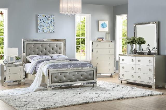 Eclipse Furnishings Allure Glam Bedroom Set