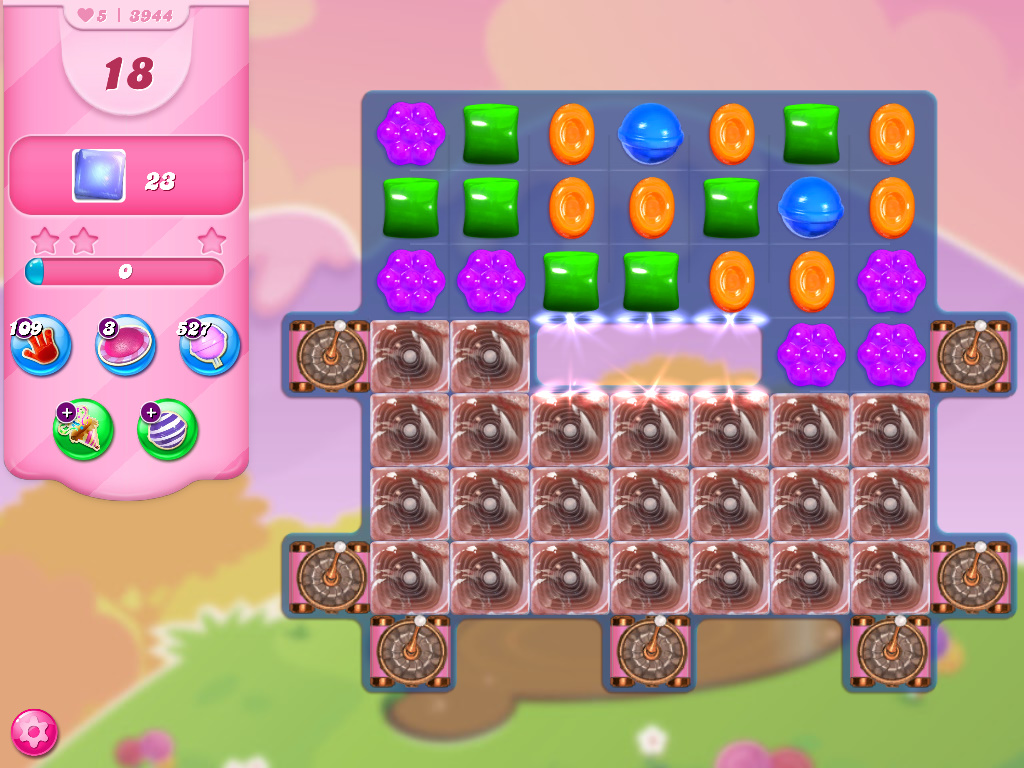 Candy Crush Saga level 3934