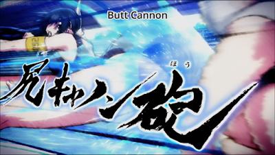 Meriam Pantat Kehampaan Pengguna Kaminashi Nozomi