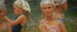 chicas-sobre-paisajes-impresionimo-realismo