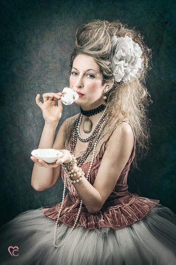 Fotografia di ritratto, mari crea Photographer, vintage, retroreal, maria Antonietta