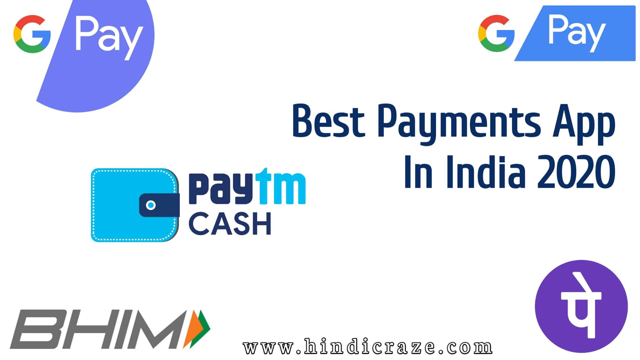 Best UPI Payment App In India 2020