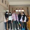 Jelang PTM Dimulai, Kepsek SMA N 4 Sungai Penuh Goro Bersama Siswa