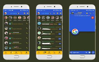Google Theme For YOWhatsApp & Fouad WhatsApp By Leidiane