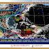 Durante esta noche y madrugada, se pronostican intervalos de chubascos para Campeche, Quintana Roo y Yucatán