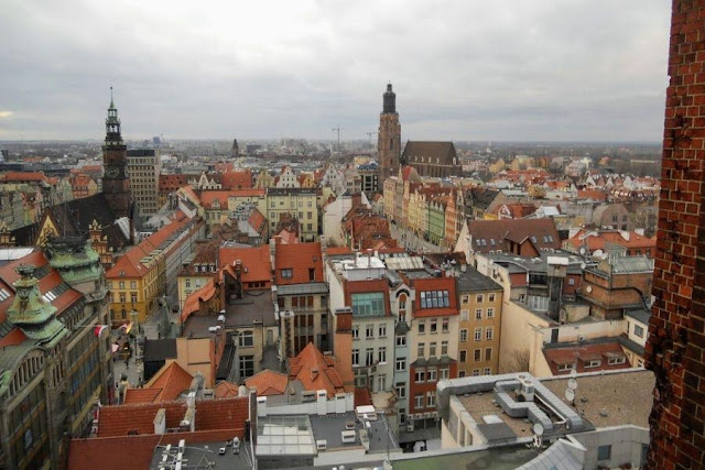 Things to do in Wroclaw in winter: climb the tower at Wroclaw Cathedral