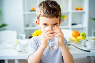 drinking adequate amount of water helps in blood purification
