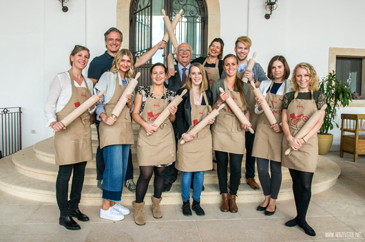 Die Teilnehmer der Giovanni Rana Pressereise