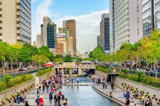 South Korea Honeymoon Package stream river