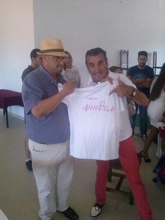 Foto con Manolo Orta