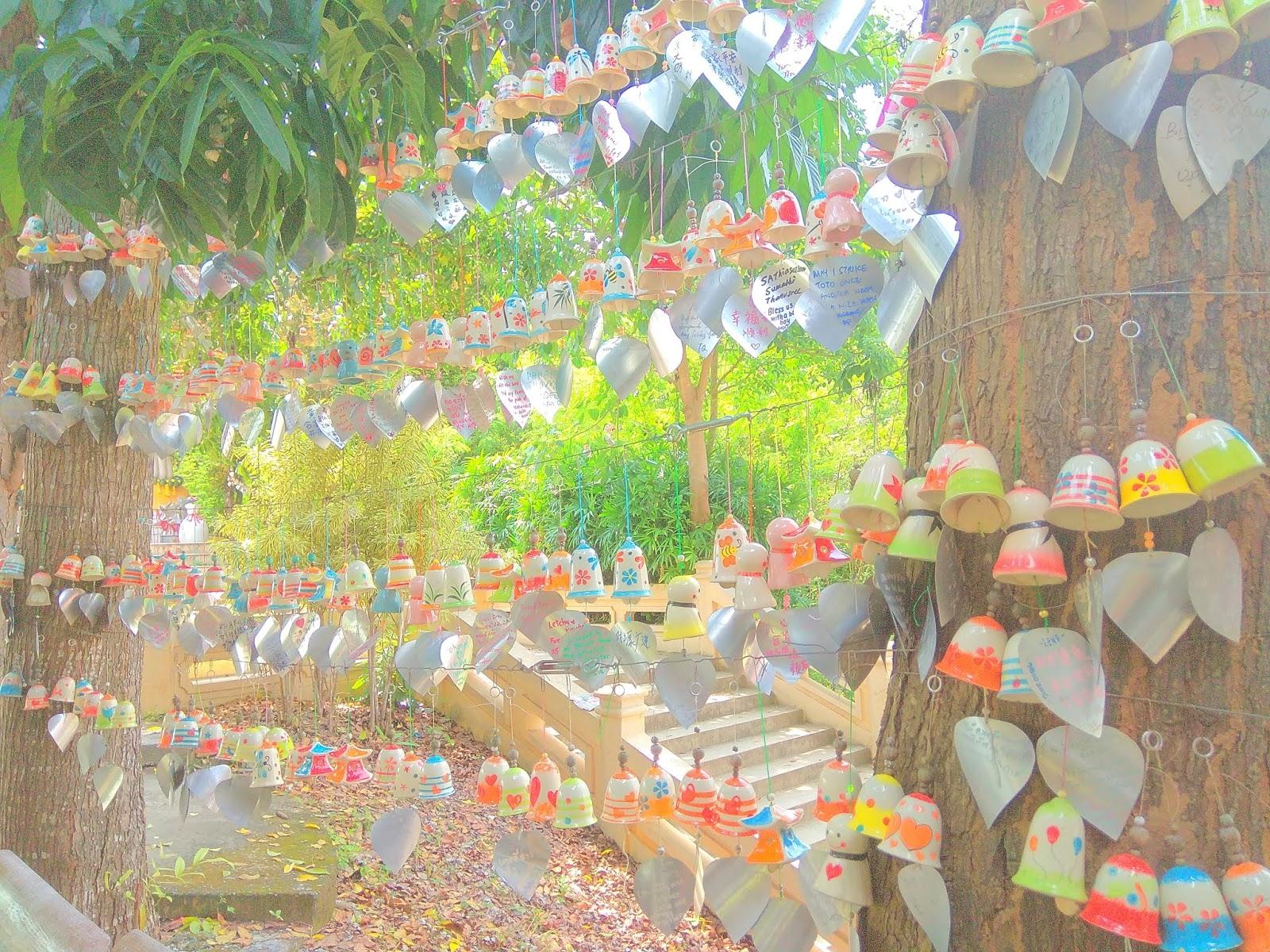 Vivians Diary Benih Biji Cabe Garda Fireworks Hatyai Municipal Park Wishing Bell