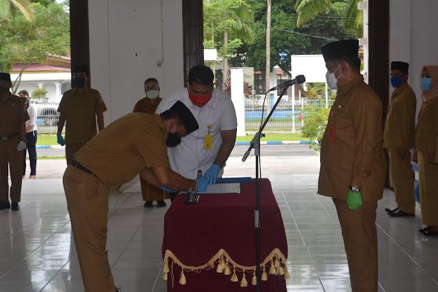 Bupati Lantik 91 Pejabat Pengawas di Lingkungan Pemkab Deli Serdang