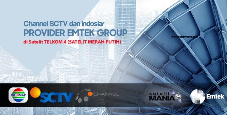 Frekuensi Terbaru SCTV dan Indosiar 2020