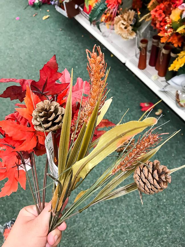 Dollar Tree fall floral picks