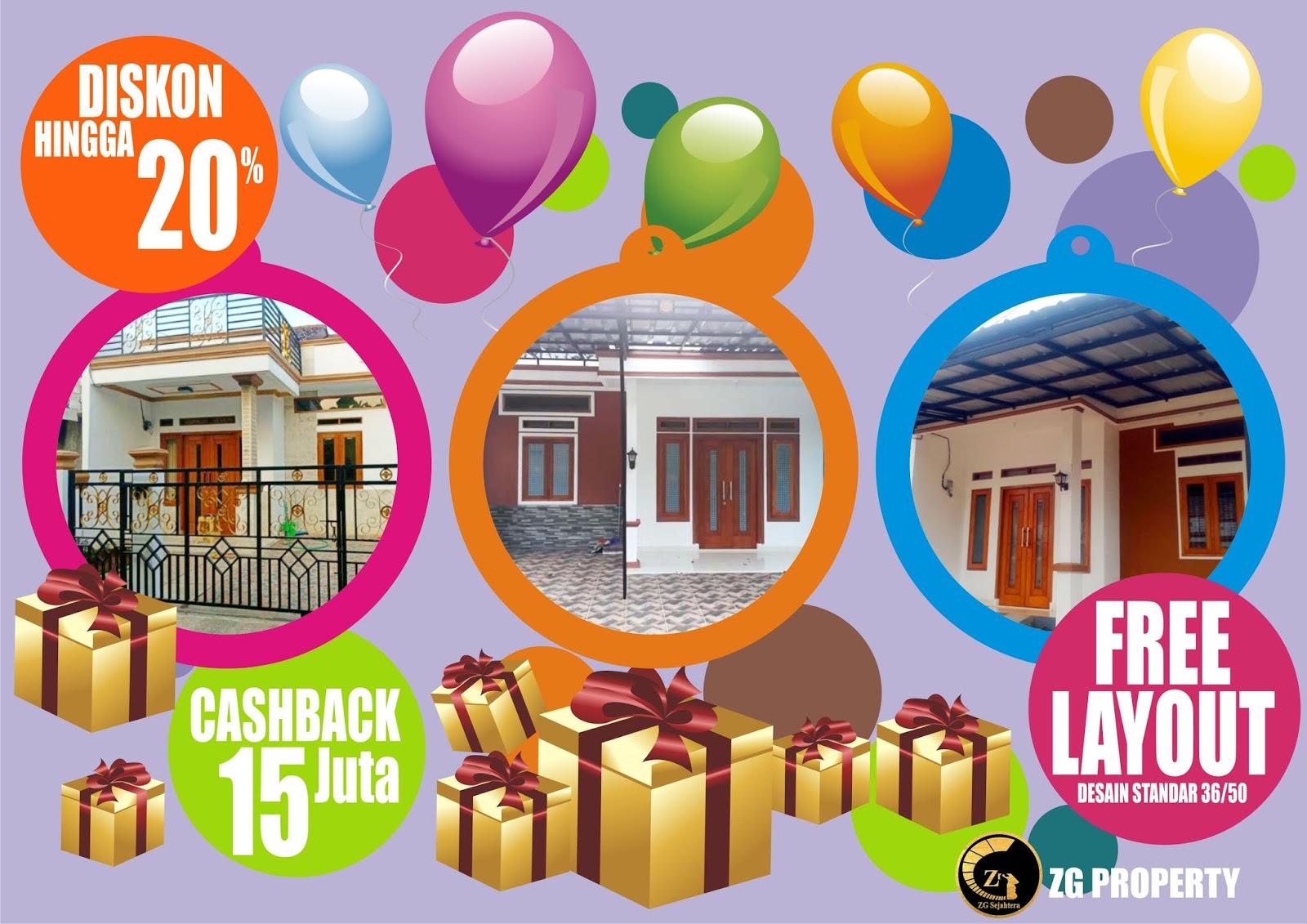 Promo Akhir Tahun Rumah Dijual Citayam