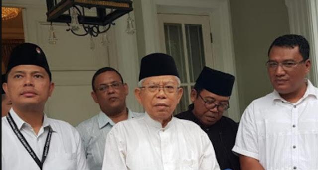 Bagi Tugas di Debat, Ma'ruf: Opening-Closing Disampaikan Pak Jokowi
