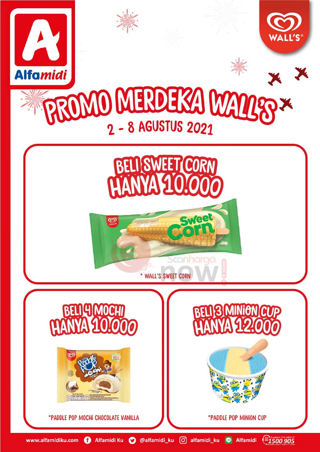 ALFAMIDI Promo MERDEKA WALL'S - Beli 1 Gratis 1 1