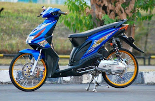 Modivikasi Honda Beat