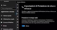 Come Disattivare Windows Defender antivirus in Windows 10