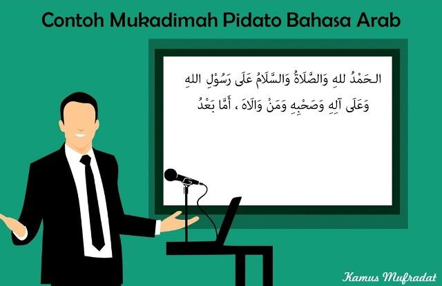 6 Contoh Mukadimah Pidato Bahasa Arab Cara Baca Artinya