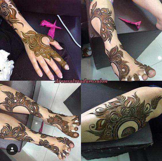 Arabic Khaleeji Henna MEhndi Designs