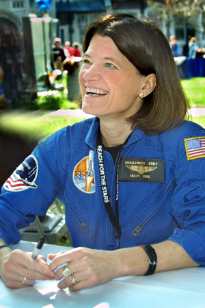 Shybiker: First Woman In Space