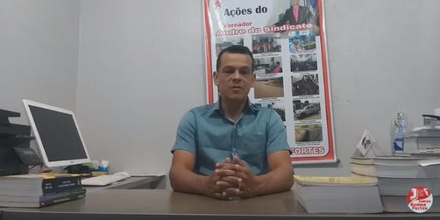 VÍDEO: VEREADOR ANDRÉ DO SINDICATO LUTA POR UMA PROCESSADORA DIGITAL PARA O RAIO X