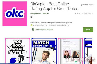 okcupid aplikasi mencari jodoh
