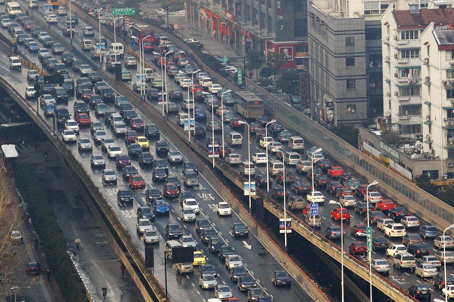 Kurangi Kemacetan, Mobil Di China Akan Dipasang RFID