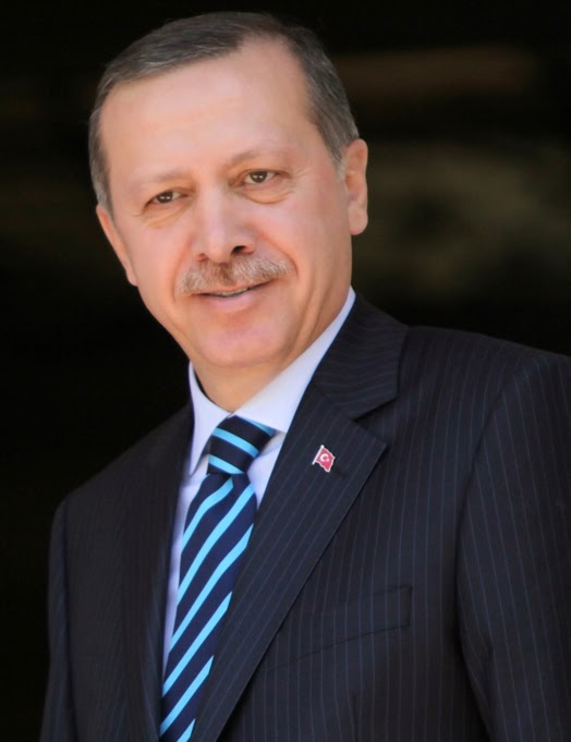 Recep Tayyip Erdogan : Prime minister of Turkey 2003-2014, Present days president of Turkey