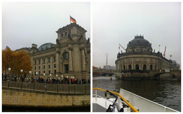 passeio de barco pelo rio Spree em Berlim