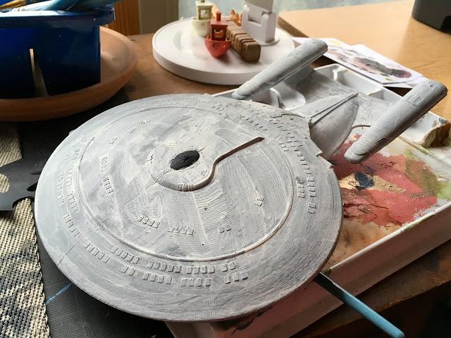 Star Trek Next Generation USS Enterprise via foobella.blogspot.com
