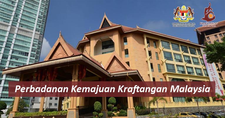 Jawatan Kosong Perbadanan Kemajuan Kraftangan Malaysia Tarikh Tutup 14 November 2019 Jawatan Kosong Kerajaan 2020 Terkini