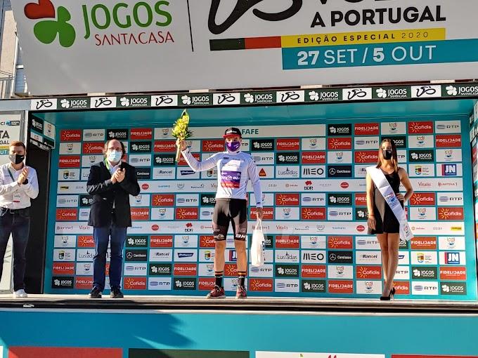 Carlos Canal se luce en el prólogo inicial de la Volta a Portugal y se coloca líder en Sub23
