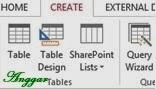 Membuat tabel baru