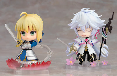 Nendoroid Caster Merlin  Magus of Flowers Ver. de Fate Grand Order - Orange Rouge (1)