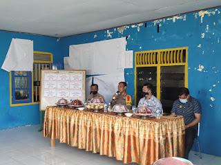 Silaturahmi Dengan Masyarakat Taraweang, Kapolres Pangkep Ajak Jaga Kamtibmas