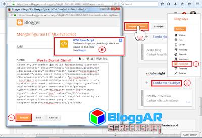 Memasang FeedBurner pada Widget Blog
