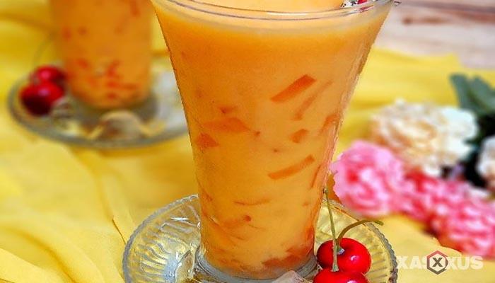 Resep cara membuat jus mangga jelly