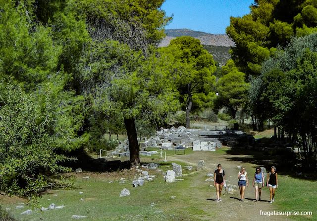 Sítio Arqueológico de Epidauros, Santuário de Asclépio