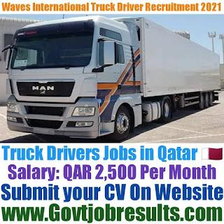 Waves International Heavy Truck Driver Recruitment 2021-22
