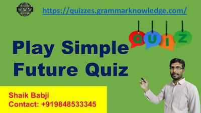 Simple Future Quiz